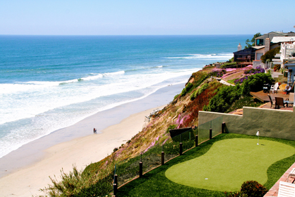 Can a Hotel Offer This? Private Golf Tee Overlooking the Ocean…